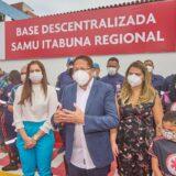 Augusto Castro anuncia novidades para o Samu-192 na inauguração da Base Descentralizada