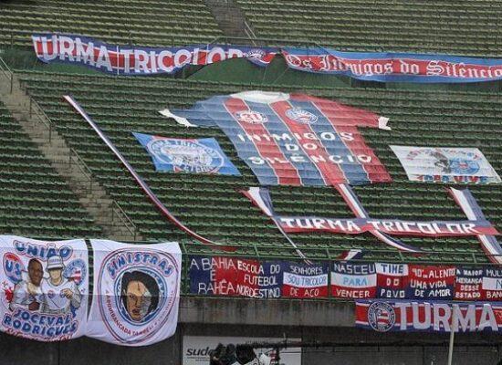 Com anúncio de volta do público, Bahia vai sortear torcedores para ver jogo no estádio