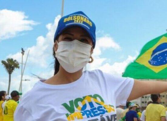 Deputada Talita Oliveira defende voto impresso e manda recado ao TSE: 'Povo é soberano'