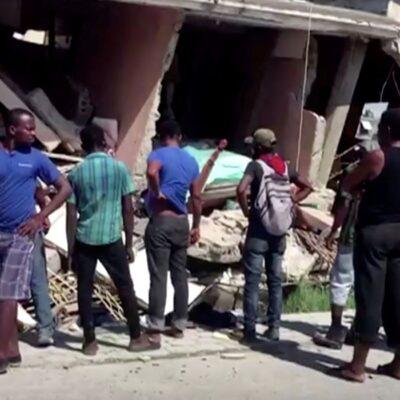 Haiti: tempestade diminui esperança de encontrar sobreviventes