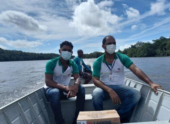 Itacaré distribui produtos para tratamento de águas impróprias