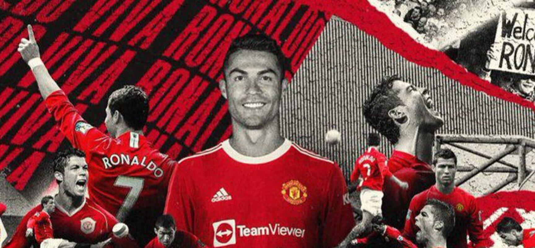 Manchester United conclui contratação de Cristiano Ronaldo