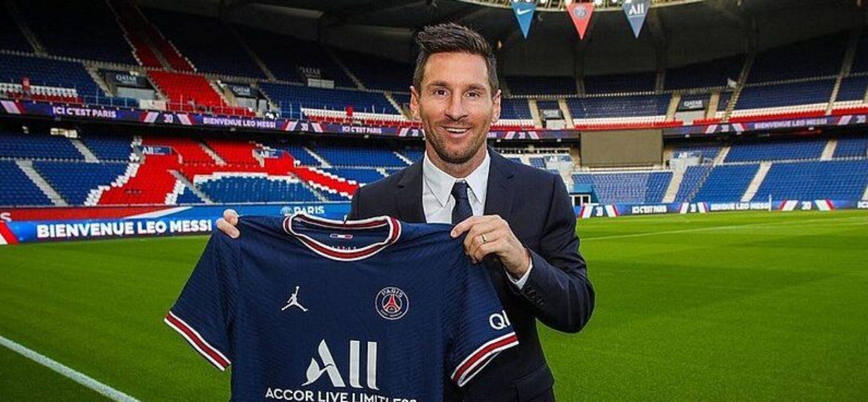 Messi estreia em campo neste final de semana pelo Paris Saint-Germain