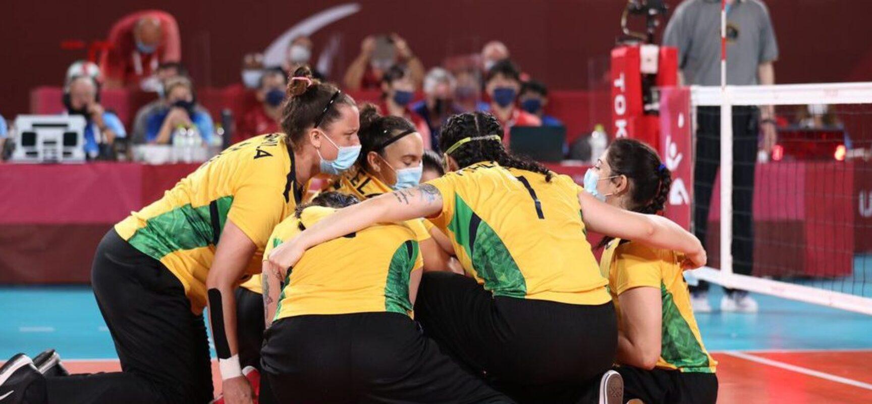 Paralimpíada: vôlei feminino brasileiro estreia com vitória em Tóquio