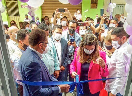 Prefeito Augusto Castro entrega nova sede do Centro de Referência em atendimento à Mulher