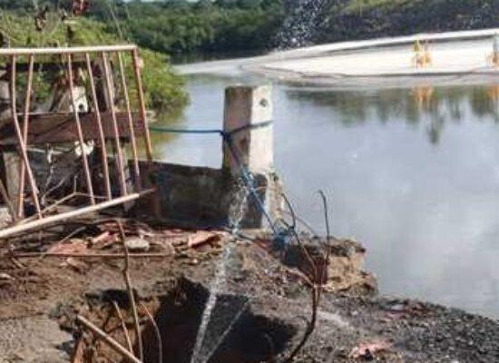 Prefeitura de Ilhéus cobra da Embasa urgência no reparo da ponte do Cururupe