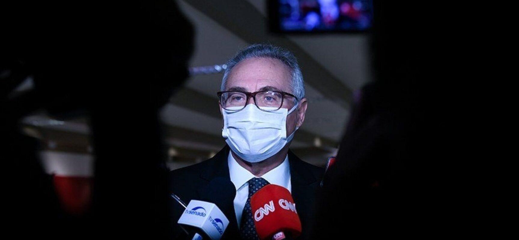 Relatório da CPI da Pandemia sai em setembro, diz o relator, Renan Calheiros
