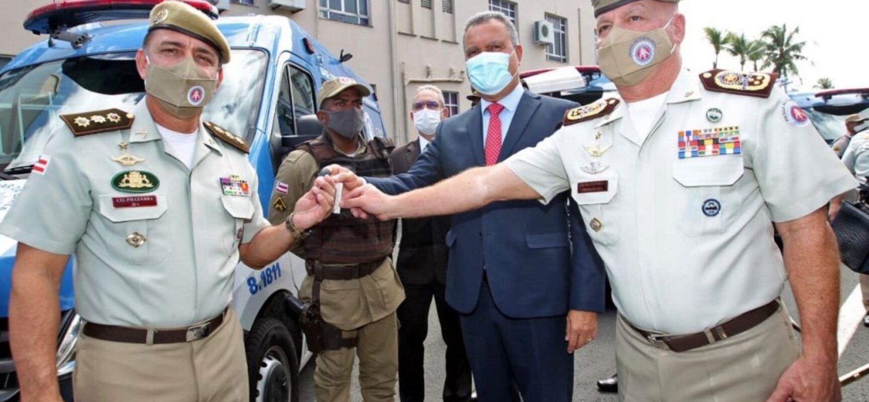 Rui entrega novas bases de segurança e participa da formatura de novos sargentos