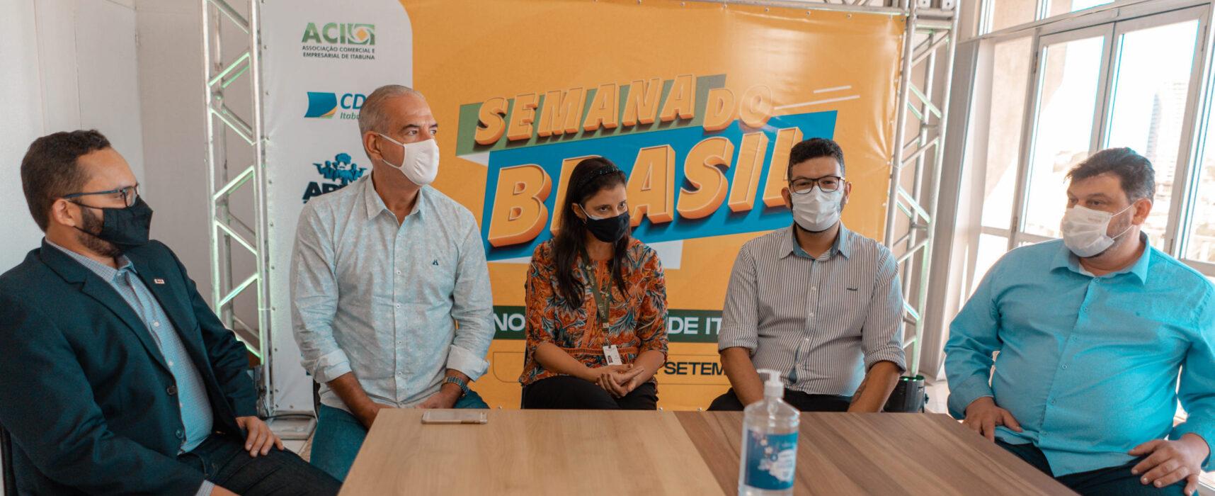 Semana do Brasil vai aquecer o comércio de Itabuna entre 2 e 12 de setembro