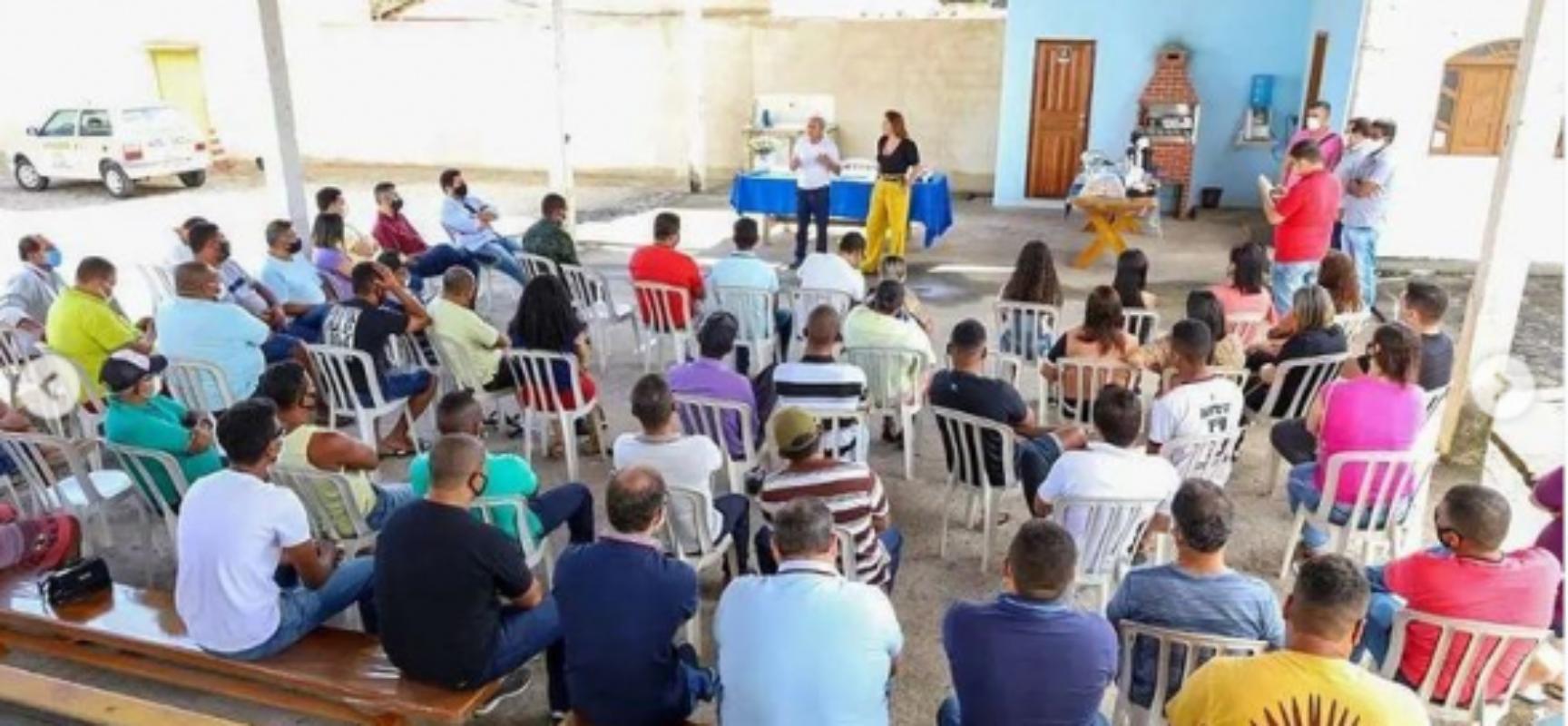 Soane Galvão cumpre agenda no final de semana em visita ao extremo sul da Bahia
