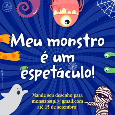 Teatro Popular de Ilhéus convida crianças a enviarem desenhos para seu próximo espetáculo