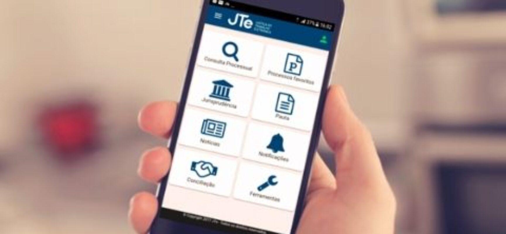 Aplicativo da Justiça do Trabalho tem 1,3 milhão de downloads e 306 mil usuários