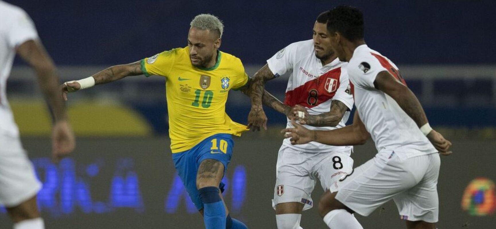 Contra Peru, Brasil encerra confusa rodada tripla das eliminatórias
