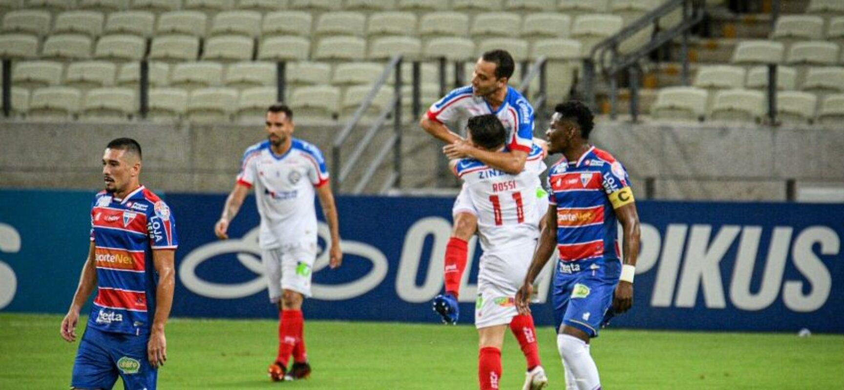 Em jogo espetacular, Bahia vence o Fortaleza com quatro gols de Rodallega