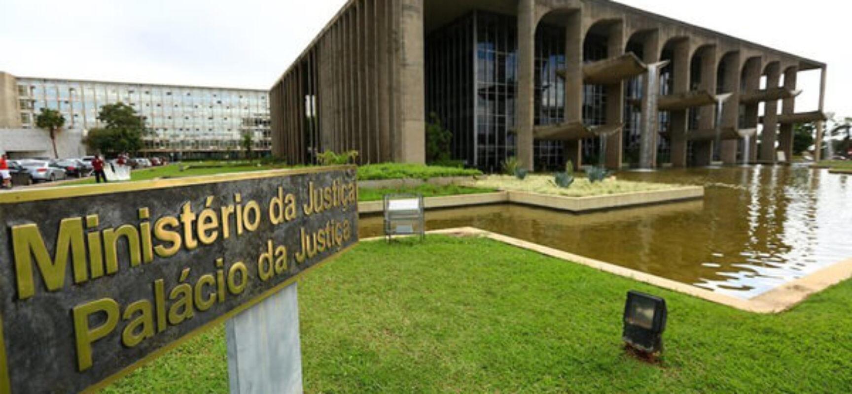 Governo altera estrutura do Ministério da Justiça