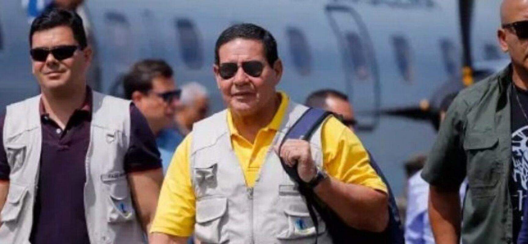 Mourão viaja à Amazônia levando comitiva de embaixadores
