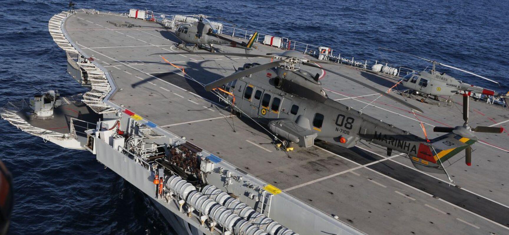 Operação aeronaval reúne 830 militares das três Forças no Rio