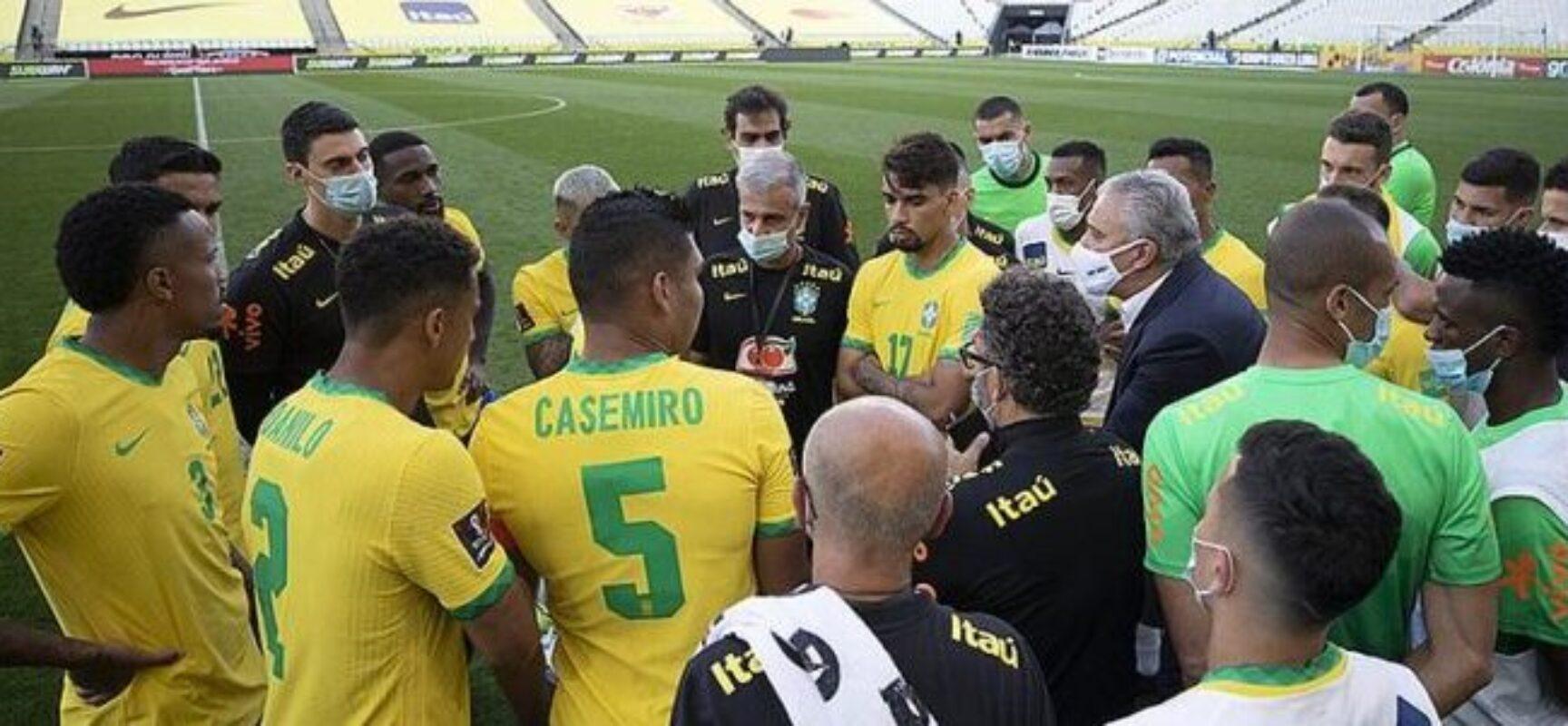 PF investiga jogadores argentinos por falsidade ideológica