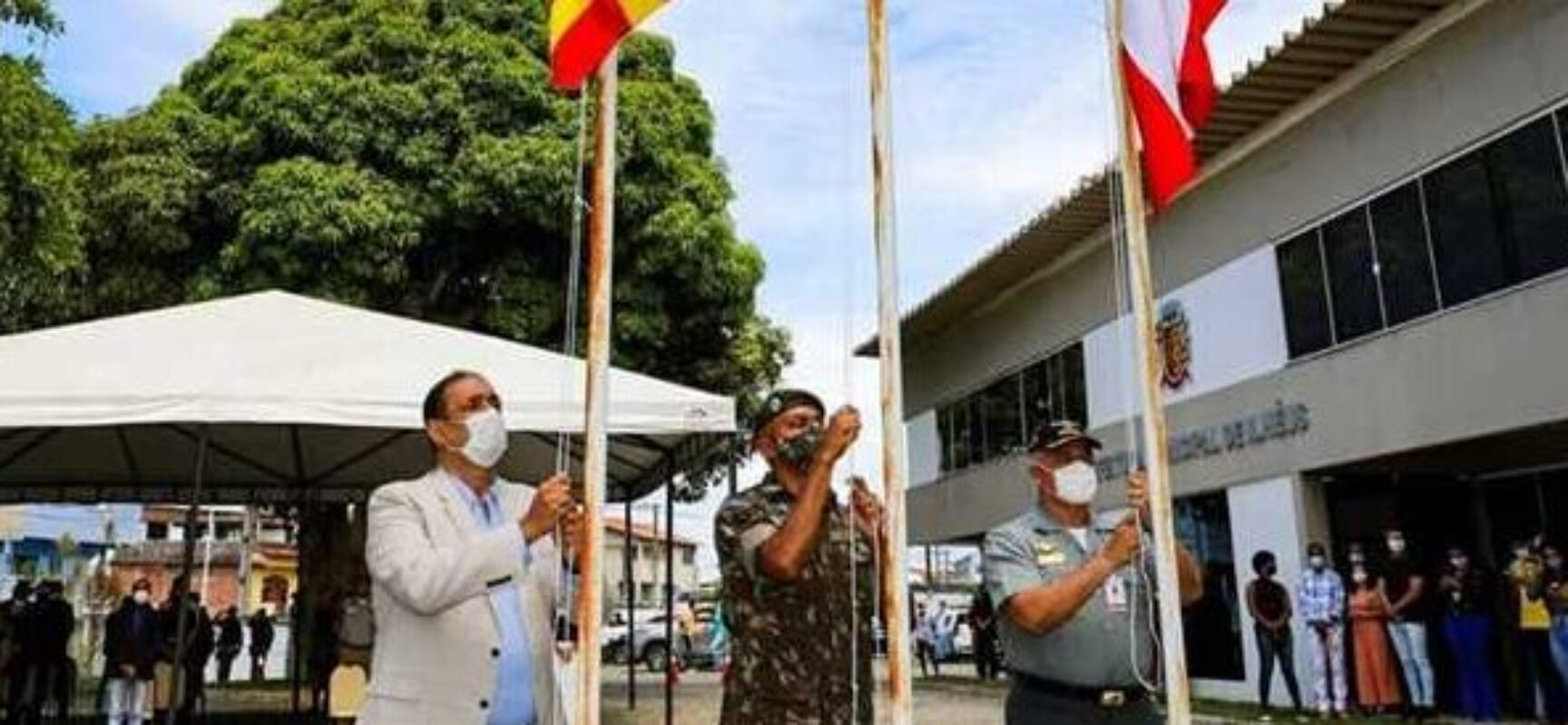 Prefeitura de Ilhéus realiza solenidade cívica em comemoração ao dia da Independência do Brasil