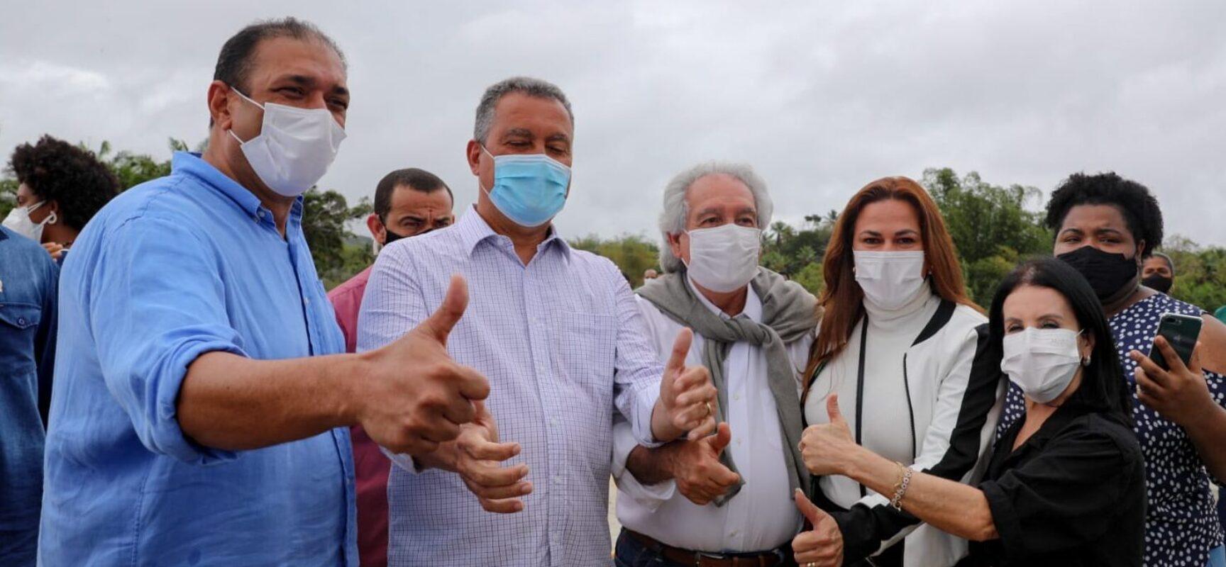 Soane Galvão agradece ao governador Rui Costa por entrega de ponte e melhorias no litoral norte de Ilhéus