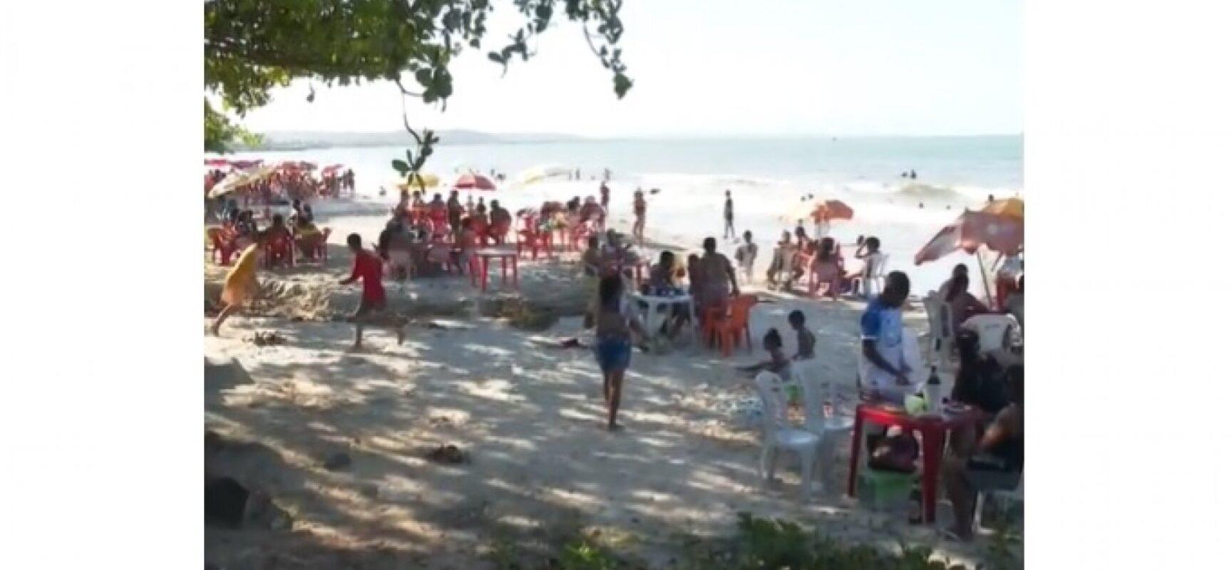 Tiroteio em praia de Ilhéus deixa um morto e dois feridos