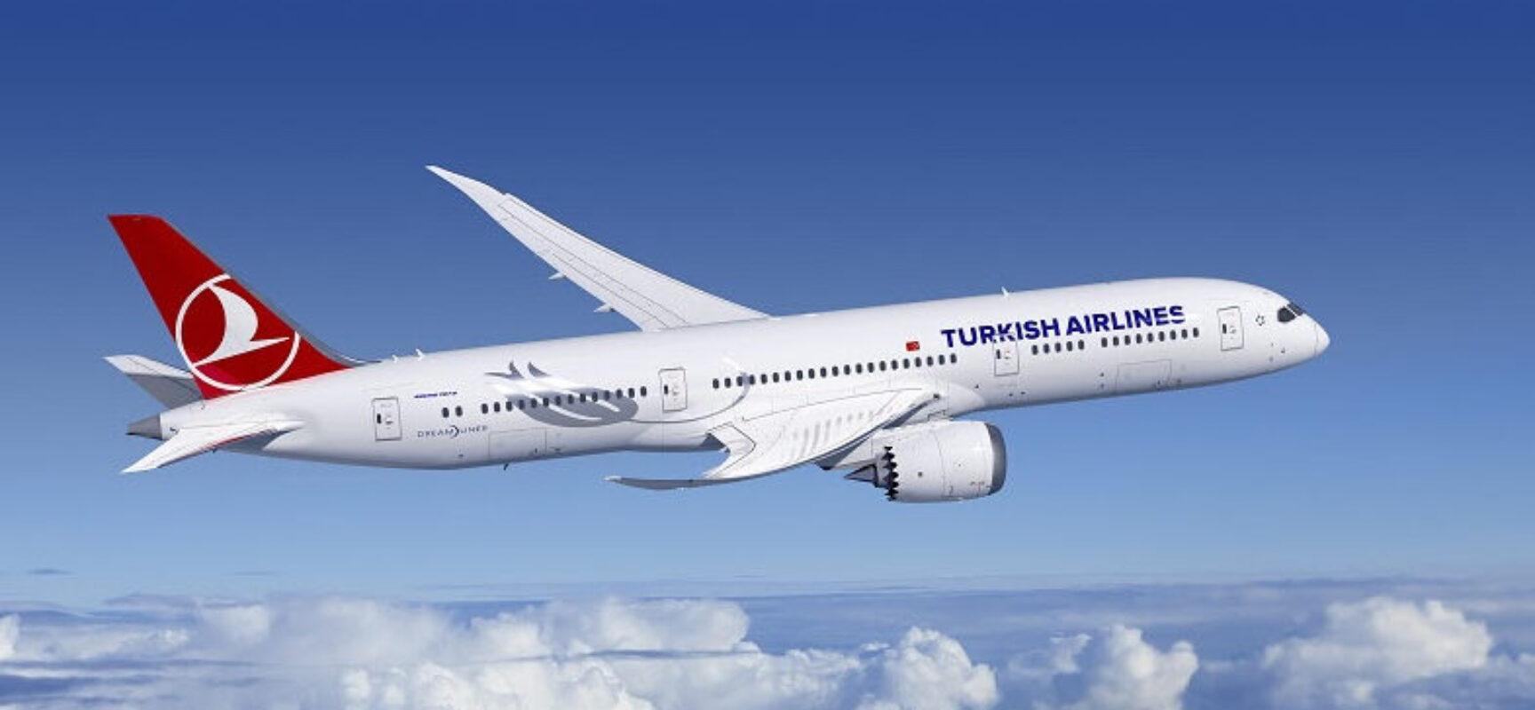 Turkish Airlines disponibiliza novos serviços a bordo de suas aeronaves