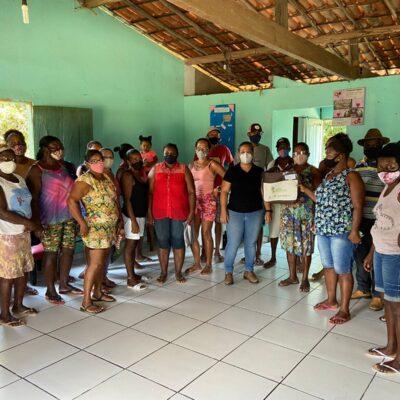 Comunidades quilombolas em Cachoeira recebem mais de R$ 1 mi em investimentos do Governo do Estado