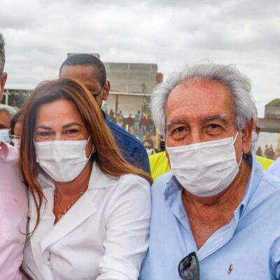 Em Floresta Azul, Soane Galvão reforça pedidos à Rui Costa para desenvolvimento da região Sul
