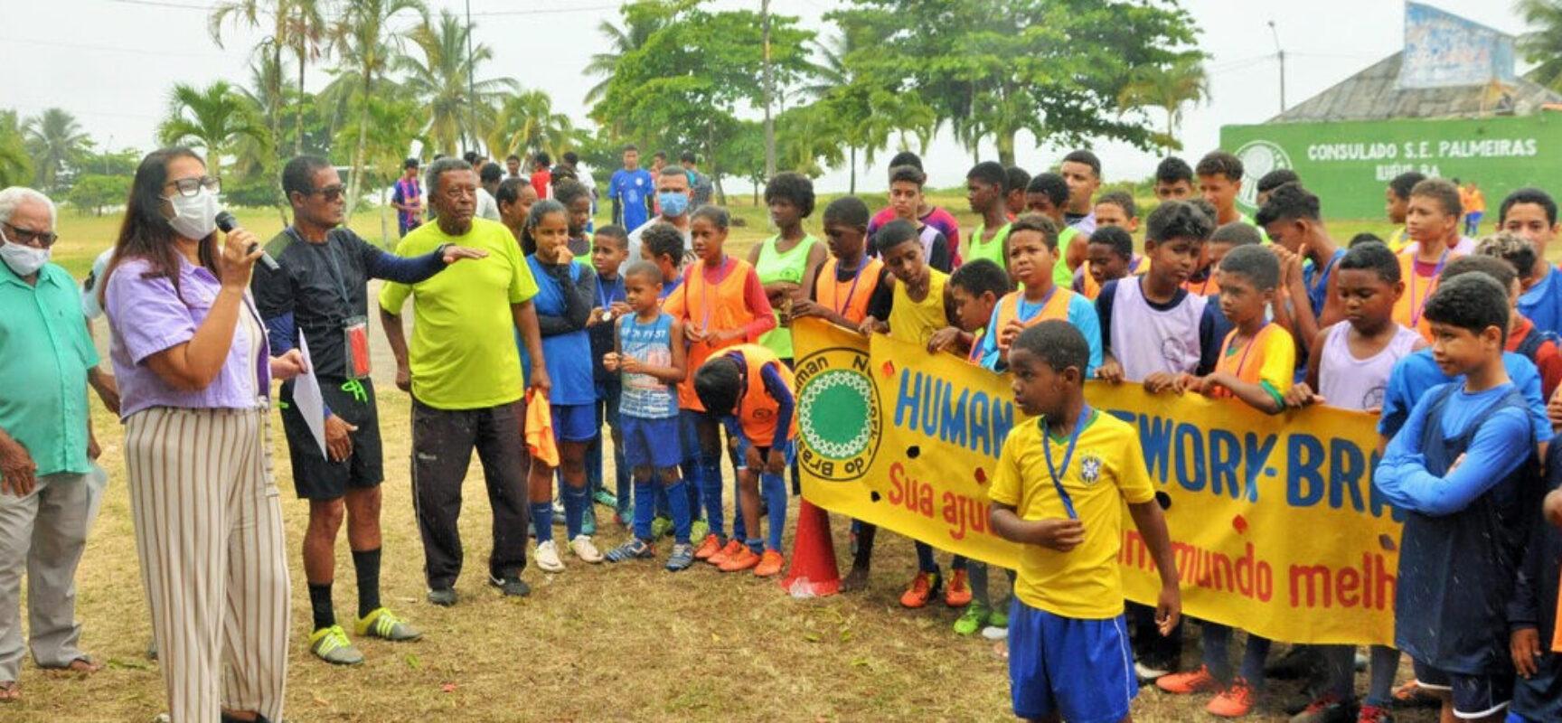 Escolinha de Esportes Os Meninos de Ilhéus promove torneio infanto-juvenil em homenagem ao dia das crianças, na litorânea norte