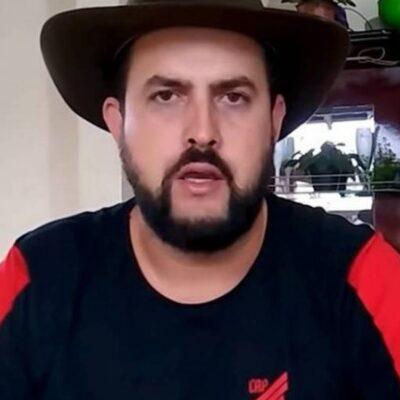"""Foragido, Zé Trovão diz que voltar ao Brasil para ser preso está """"fora de cogitação"""""""