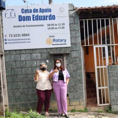 HNB visita Casa de Apoio Dom Eduardo