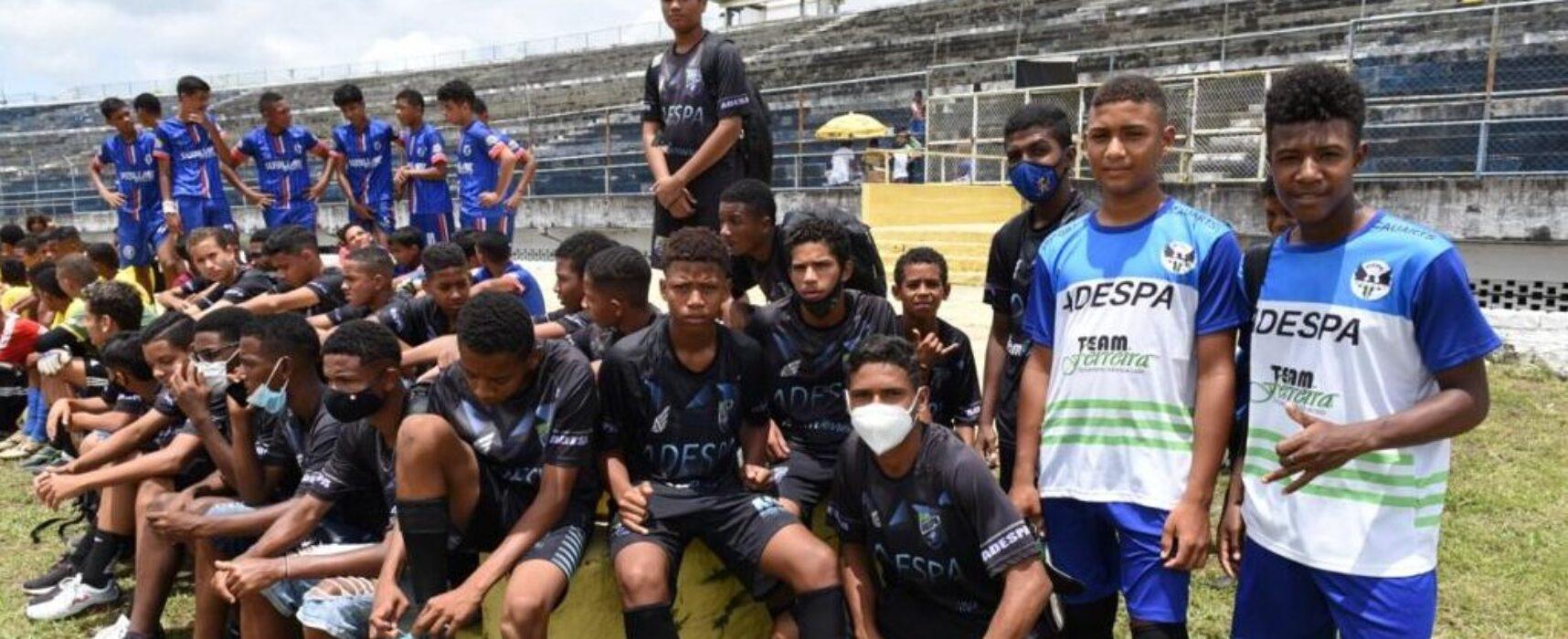 Jovens de Itabuna e região participam de avaliação técnica para ingressar no Fluminense Football Club
