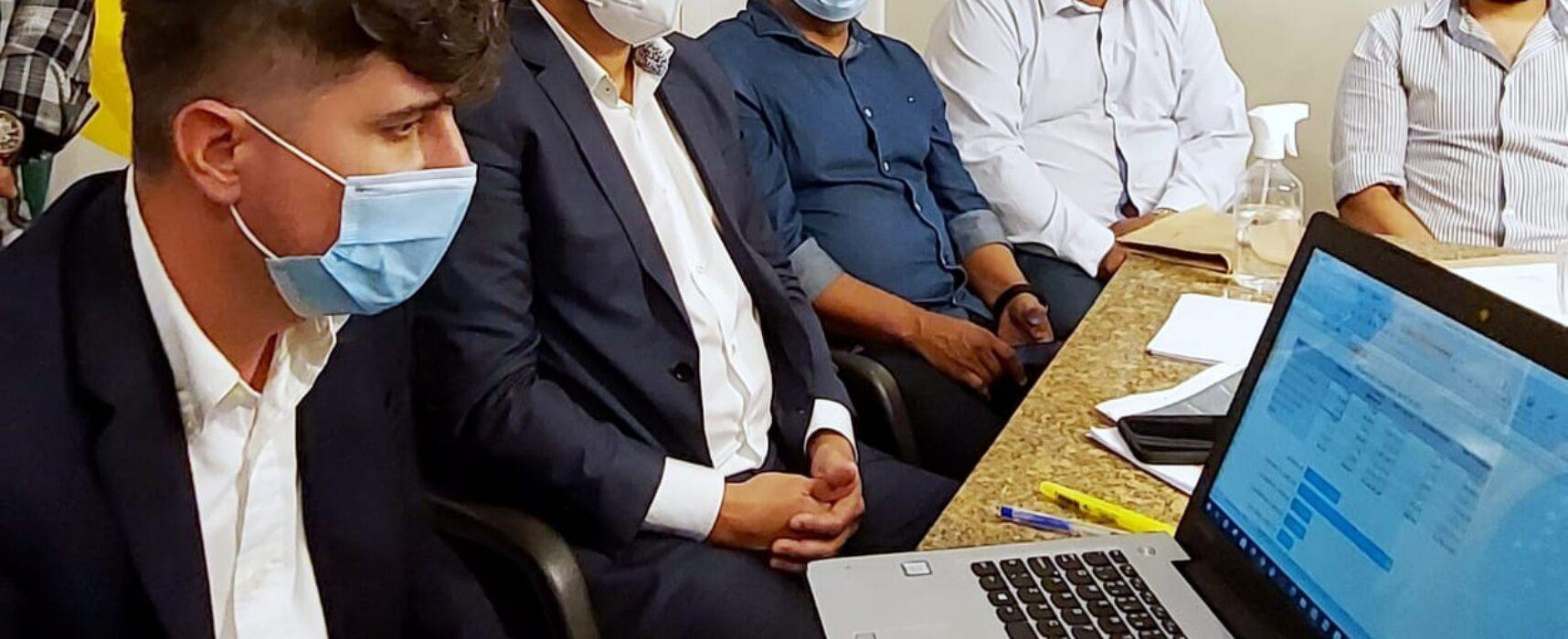 Prefeito Augusto Castro recebe empresários em diálogo sobre mudanças no Código Tributário