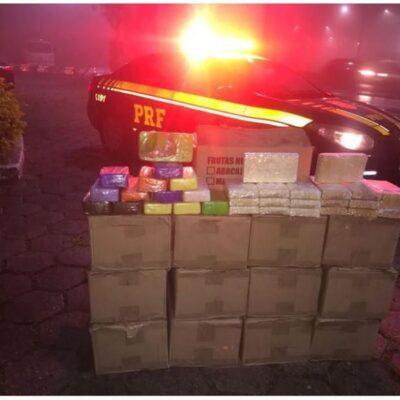 PRF apreende mais de 400 kg de cocaína pura em rodovia federal do Rio